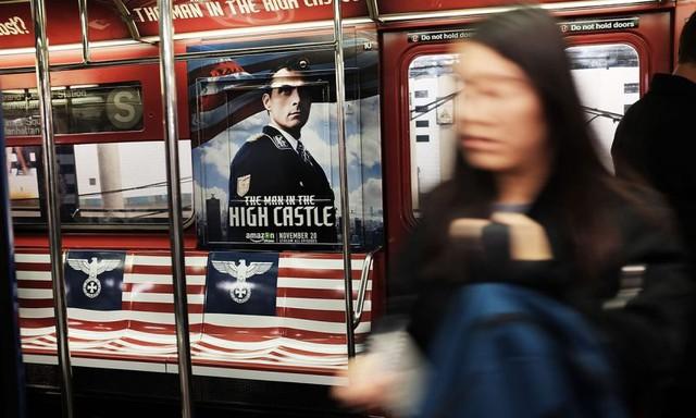 Amazon quảng bá cho bộ phim The Man in the High Castle bằng những hình ảnh nhạy cảm.