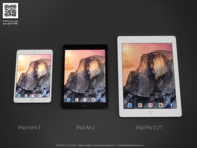 "Return of the bezel - iPad Pro 12""?"