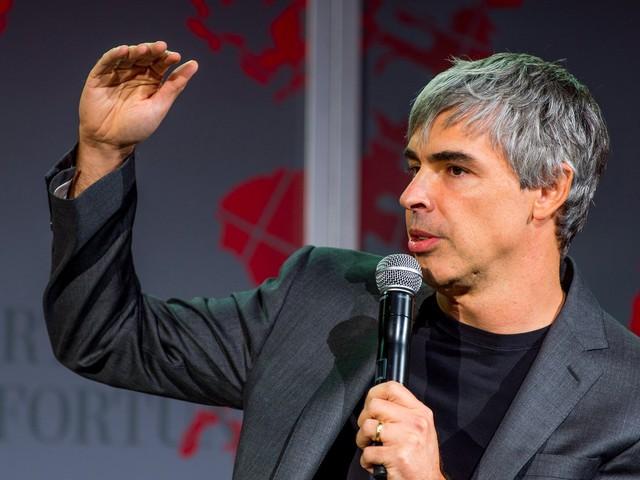 CEO của Alphabet, ông Larry Page.