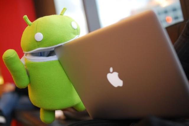 Apple đang thu hút rất nhiều các nhà đầu tư, trong khi Android đang trong chiều hướng ngược lại.