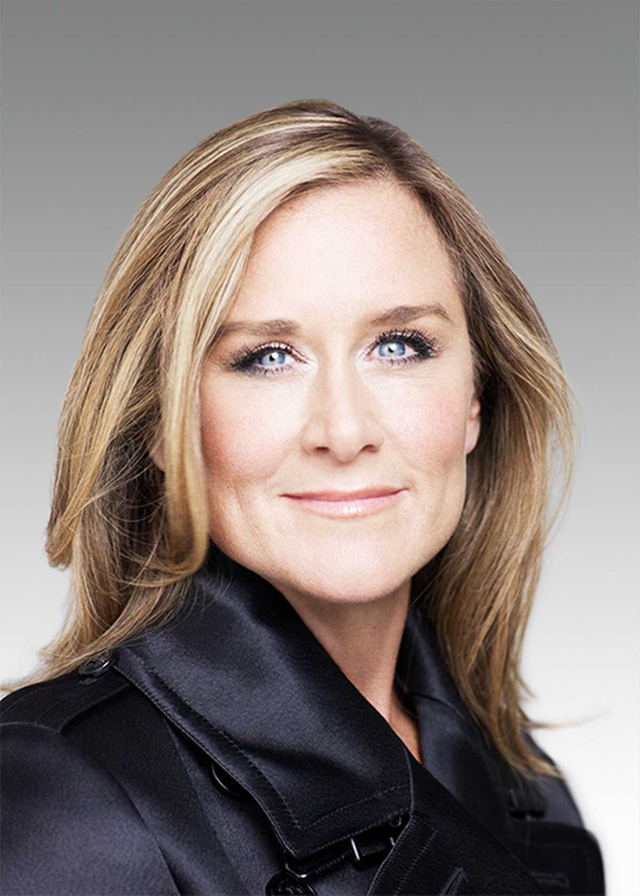 Angela Ahrendts oversees how Apple runs its retail stores.