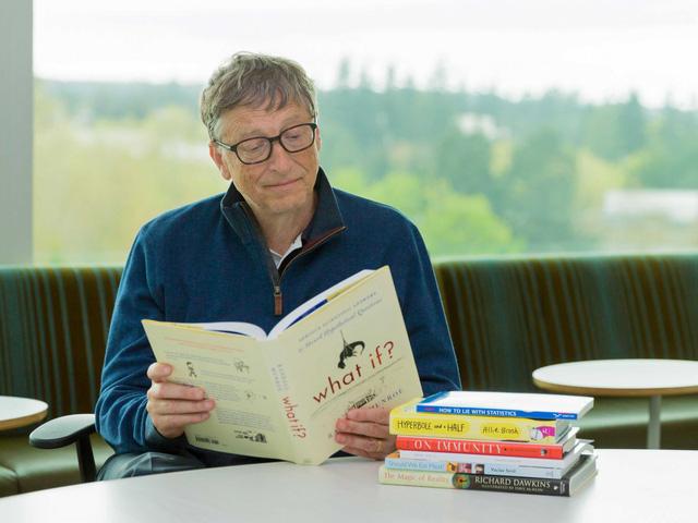 Bill Gates mellows out.