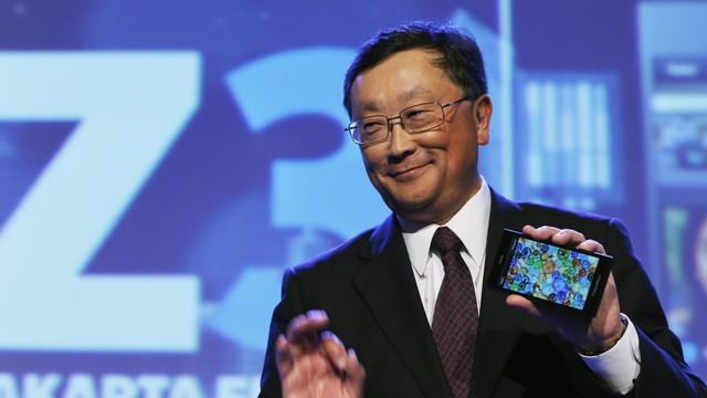Bản thân vị chiến lược gia 60 tuổi cũng hiểu rằng BlackBerry đang ở cửa dưới với công ty trái cây khác
