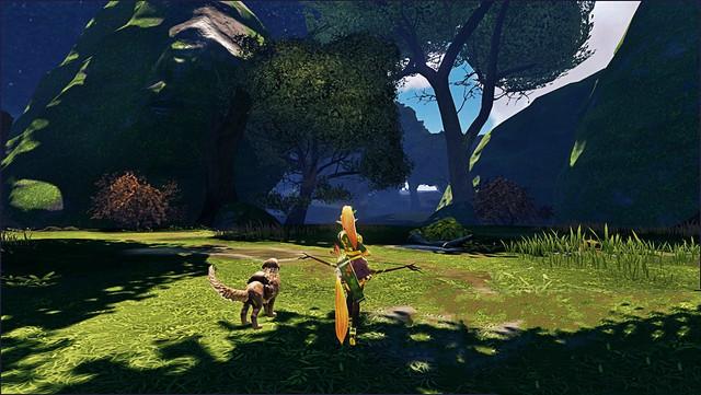 Bức ảnh chụp màn hình duy nhất của game cho đến nay.
