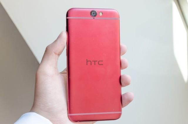Đây là phiên bản HTC One A9 màu đỏ