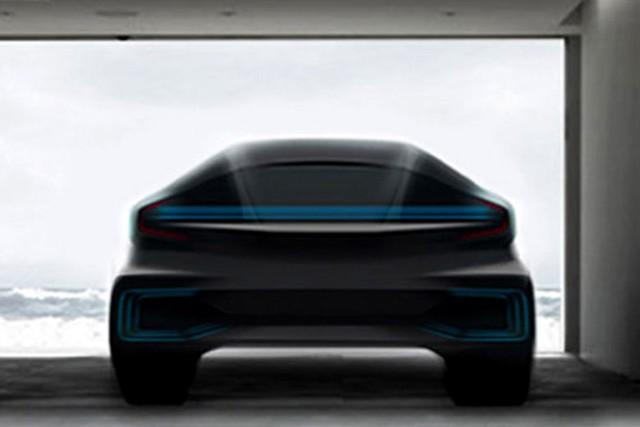 Một mẫu thiết kế xe hơi của Faraday Future