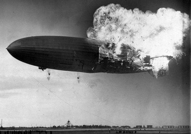 Hindenburg là chiếc khí cầu lớn nhất trong lịch sử và đây cũng là thảm họa thảm khốc nhất.