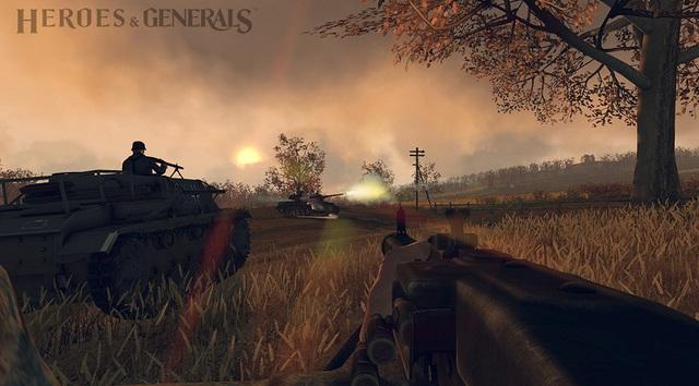 Cận cảnh Heroes & Generals - webgame bắn súng chiến thuật đình đám 1