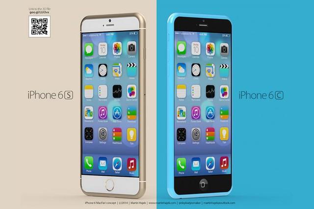 Ý tưởng iPhone 6s và iPhone 6c