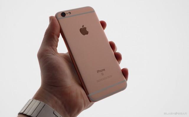 iPhone 6s màu vàng hồng đang trở thành món hàng hot trên thị trường di động