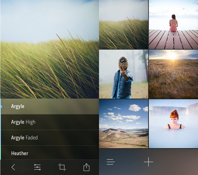 Litely is great for adding subtle filters.
