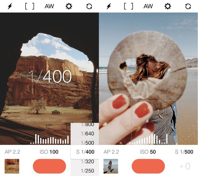 Manual gives photography experts full access to all of your cameras settings.