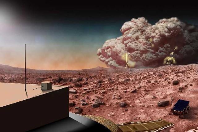 Sao Hỏa bị ném bom = Chernobyl phiên bản vũ trụ?