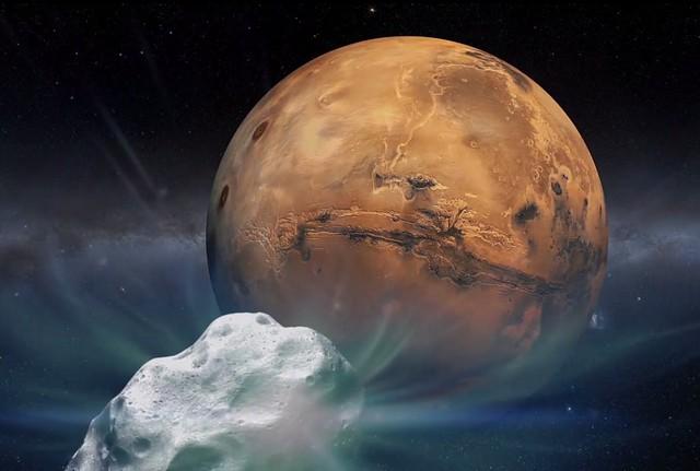 Thiên thạch mới là nhân tố chủ chốt của con đường khai phá Sao Hỏa?