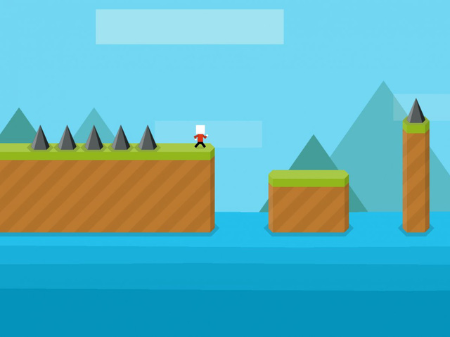 Mr Jump could be the next Flappy Bird.