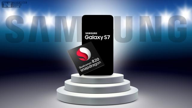 Trong khi đó Samsung Galaxy S7 rất có thể sẽ là smartphone đầu tiên được trang bị chip Snapdragon 820.
