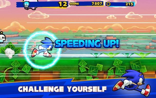 Sonic Runners screenshot 2