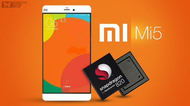 Xiaomi Mi5 sẽ trễ hẹn với Snapdragon 820.