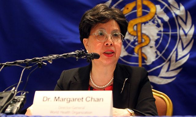 Margaret Chan, the WHO director general
