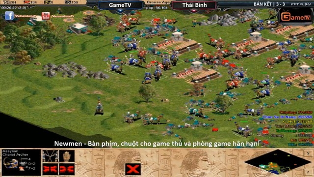 GameTV vượt qua Thái Bình trong trận Bán Kết 1 với tỷ số 3-2 đầy kịch tính.