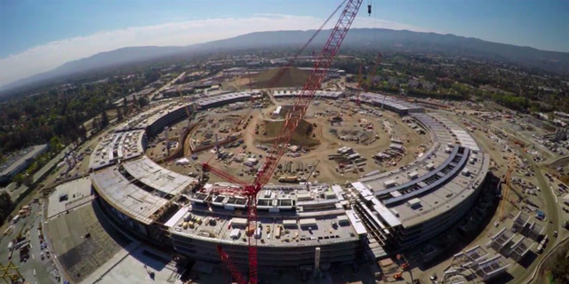 Theo ước tính sẽ có khoảng 13.000 nhân viên Apple làm việc trong khu liên hợp rộng 26 hecta