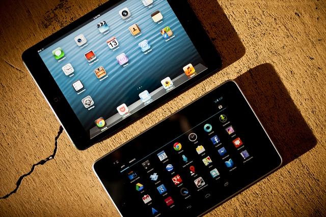 Nexus 7 của Google với cấu hình tốt và giá cả phải chăng.