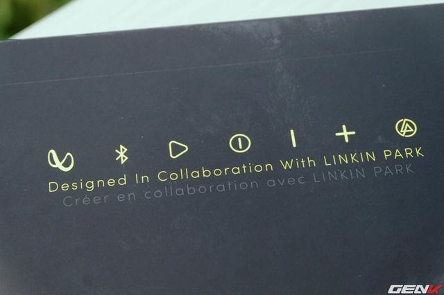 Infinity One được hợp tác thiết kế cùng với nhóm nhạc Numetal nổi tiếng Linkin Park