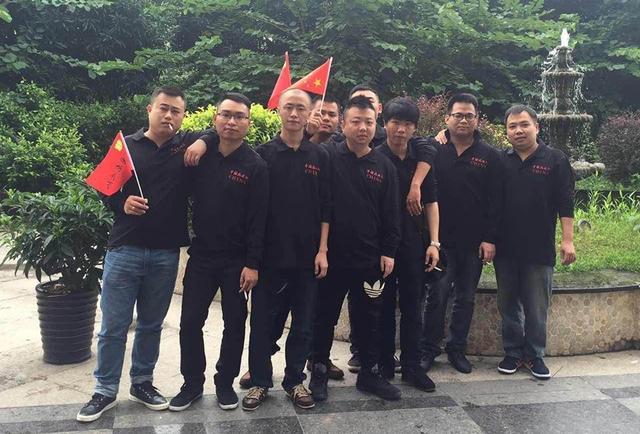 ShenLong và các đồng đội.