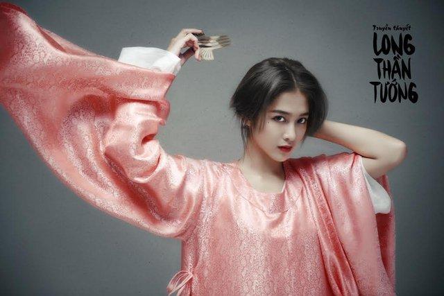 Hot girl Khả Ngân thể hiện vai nữ sát thủ Lê Nhật Lan trong truyện tranh Long Thần Tướng.