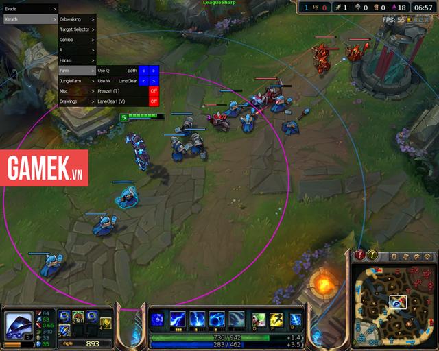 Tool hack biến người chơi kỹ năng bình thường thành siêu cao thủ.