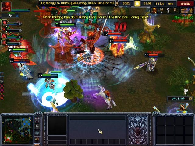 3Q Củ Hành là tựa game MOBA có cộng đồng khá đông đảo tại Việt Nam.