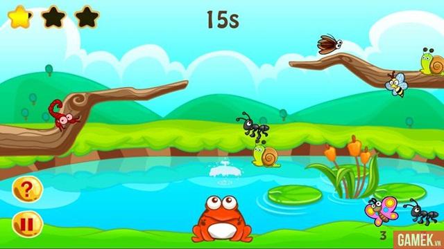 Fot the Frog - Vui nhộn với chú ếch tham ăn
