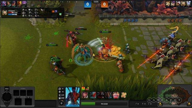 Trận đấu trong game chỉ kéo dài tối đa 20 phút kể cả khi bạn chưa phá hủy được nhà chính đối thủ