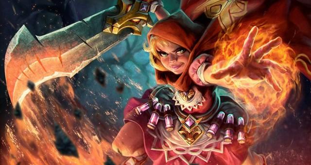 Nhân vật cô bé quàng khăn đỏ trong Arena of Fate