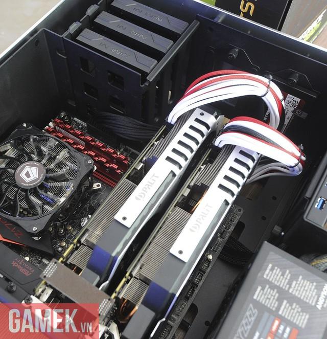 Dàn máy chơi game khủng dùng chip Intel Skylake đầu tiên tại Việt Nam