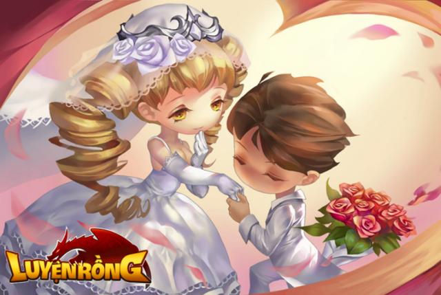 Luyện Rồng sẽ cho người chơi đồng loạt Kết hôn vào đúng dịp Giáng Sinh!