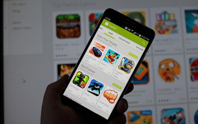 Đã có hàng tỷ lượt tải về thông qua chợ ứng dụng Play Store trong năm 2015.