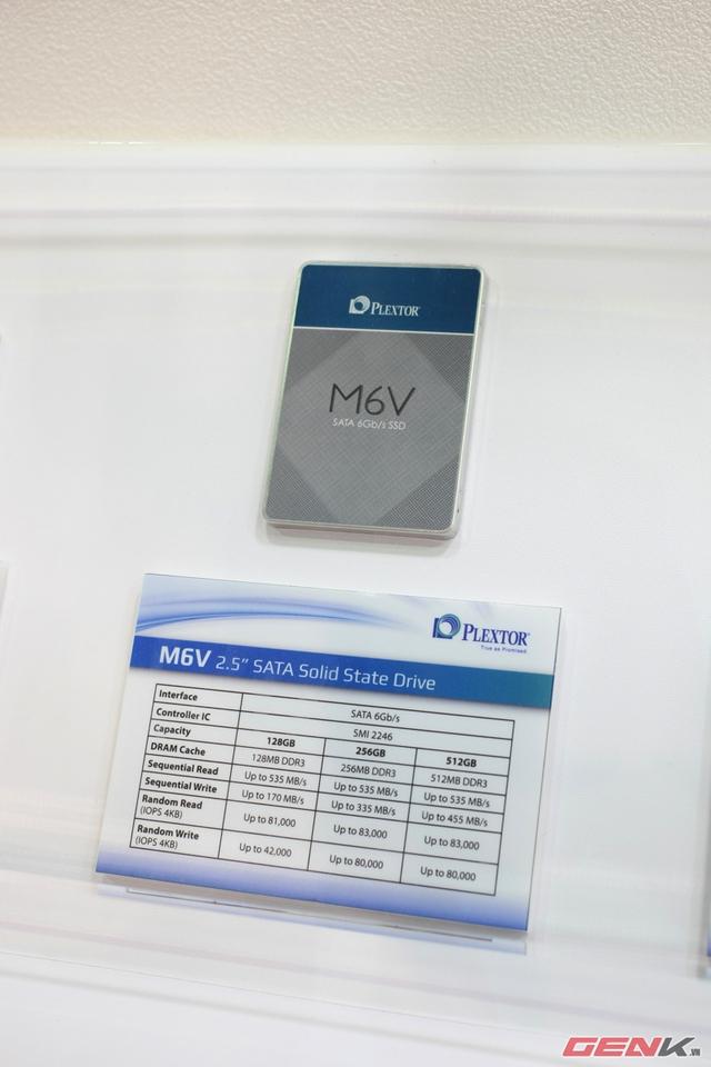 Ổ SSD M6V mới cho phân khúc phổ thông.