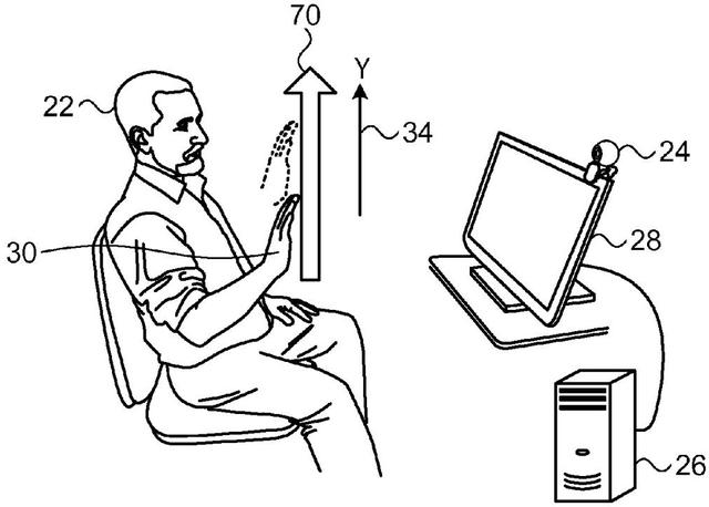 Với công nghệ này, người dùng iMac có thể vuốt trong không khí để mở khóa máy.