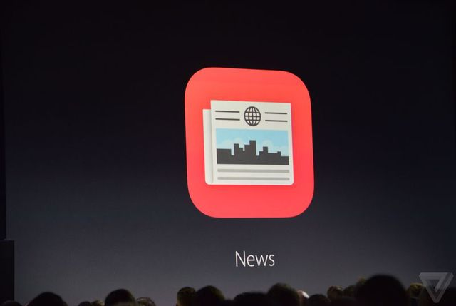 Logo của Apple News.