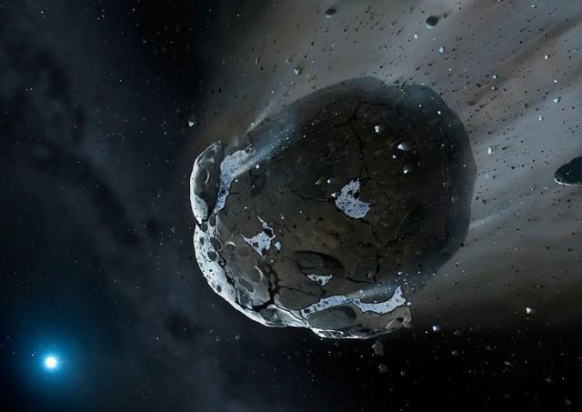 Lại thêm một thiên thạch nữa bay ngang Trái Đất.