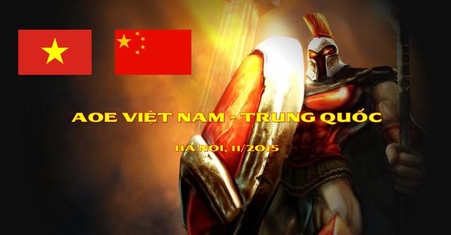 Trận đại chiến được mong chờ nhất giữa AoE Trung Quốc và AoE Việt Nam sắp khởi tranh