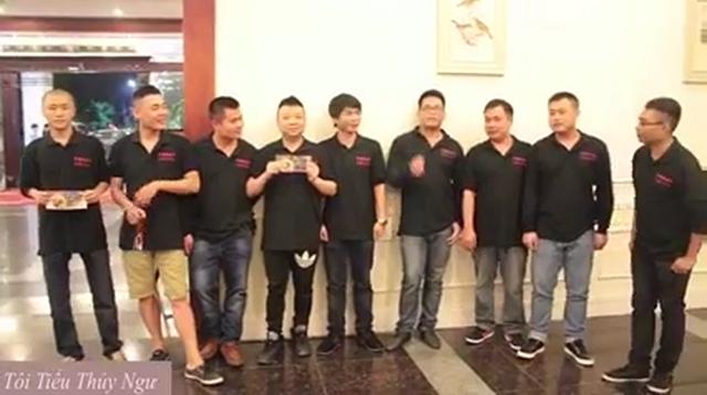 Ngạch Hán, Chiến Tướng, Tiểu Tiểu Hiệp, ShenLong, Tiểu Mã, Tiểu Thủy Ngư, Đỗ Thánh, Tiểu Hòa Ca và Minh Nhật.
