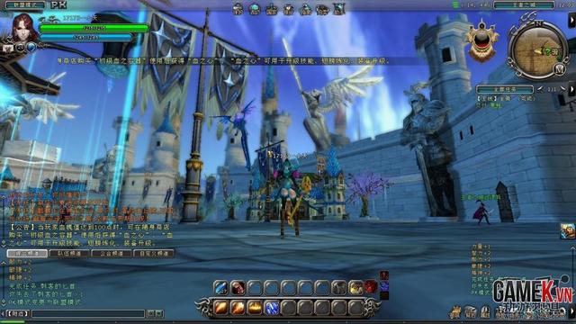 Tổng thể về Thánh Vực Tam Quốc - Game 3D đậm nét truyền thống