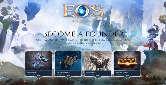 Cơ hội cho game thủ Việt chơi Echo of Soul bản tiếng Anh