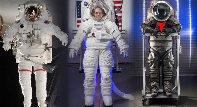 Các thế hệ bộ đồ du hành của NASA.