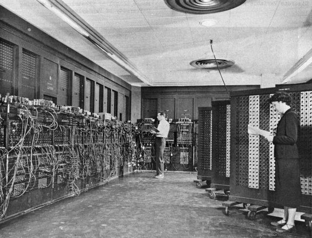 Chiếc máy tính điện tử ENIAC