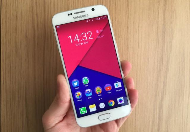 Chân dung quái vật của smartphone thế hệ mới - Samsung Galaxy S6.