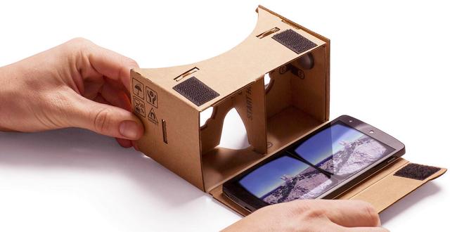 Google Cardboard là một thiết bị công nghệ hoàn toàn mới