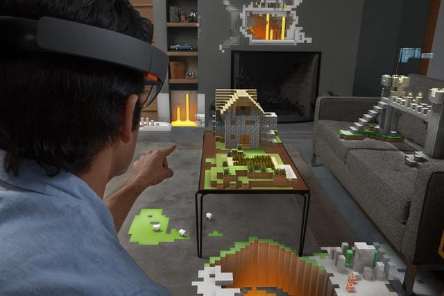 HoloLens: Bước đột phá của trò chơi điện tử?
